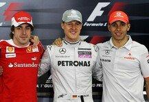 Formel 1: Formel 1, Alonso: Darum ist Schumacher besser als Hamilton