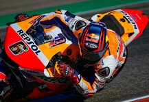 MotoGP: MotoGP-Shakedown Katar 2021: Bradl dominiert bei heftigem Sturm