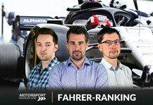 Formel 1: Formel-1-Fahrerranking Portugal: Sensationssieger vor Hamilton