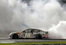 NASCAR: NASCAR 2020 Texas: 1. Saisonsieg für Kyle Busch nach Regenchaos