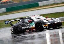ADAC GT Masters: Porsche-Doppelspitze im nassen Lausitzring-Training