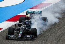 Formel 1: Formel 1 Bahrain - Mercedes: Bestzeit auch im Test-Modus
