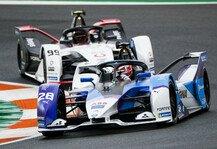 Formel E: Formel-E-Test Valencia: BMW-Pilot Max Günther fährt Bestzeit