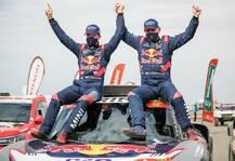 Dakar: Dakar 2021: 14. Gesamtsieg für Monsieur Dakar Peterhansel