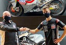 Moto2: Lukas Tulovic: 2021 Moto2-EM mit Intact SIC Junior Team