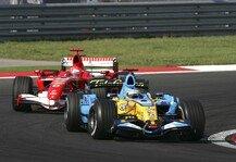 Formel 1: Formel-1-Duell der Giganten: Alonso gegen Schumacher