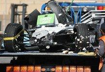 Formel E: Formel E: Neue Hintergründe zu Mortaras 40G-Unfall in Riad