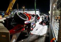 Formel E: Formel E: Alex Lynn nach bösem Unfall aus Krankenhaus entlassen