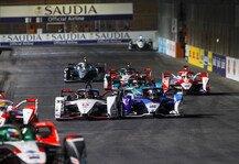 Formel E: Formel E, Riad 2021: Mercedes-Sieg, Audi-Frust, BMW-Unfälle