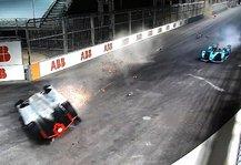 Formel E: Formel E: Großer Wirbel nach schwerem Renn-Unfall in Riad