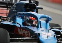 Formel 1: Ocon im Alpine: Erste Runden mit neuem Formel-1-Auto