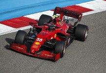 Formel 1: Formel 1, Sainz: Ferrari zurück auf die Siegerstraße führen