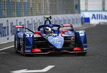 Formel E: Formel E Rom: Zwei Rookies rutschen im Qualifying in Reihe eins