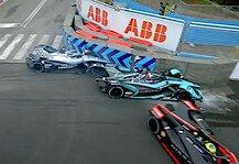 Formel E: Mercedes-Pilot de Vries: Strafe für nächstes Formel-E-Rennen