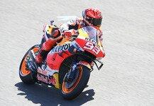 MotoGP: Marc Marquez leidet: Zweiter MotoGP-Tag deutlich schlimmer