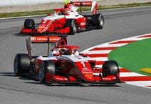Formel 3: Formel 3, Barcelona: David Schumacher knapp an Punkten vorbei