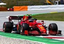 Formel 1: Formel 1, Ferrari in Spanien dritte Kraft: Podium möglich?