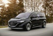 Auto: Mercedes Concept EQT: Erste Eindrücke von kleinem Elektro-Van