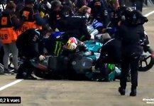 MotoGP: Franco Morbidelli: Knieverletzung schuld an kuriosem Sturz