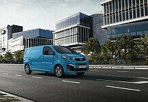 Auto: Peugeot bringt e-Expert mit Wasserstoffantrieb auf den Markt