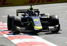 Formel 2: Formel 2 Sotschi - Sprintrennen: Ticktum gewinnt, Zendeli P10