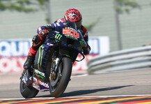 MotoGP: MotoGP Sachsenring: Quartararo holt Bestzeit, viele Stars in Q1