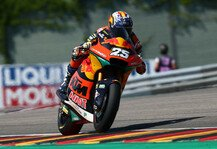 Moto2: Moto2 Sachsenring 2021: Dritte Saison-Pole für Raul Fernandez