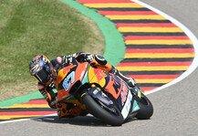 Moto2: Moto2 Sachsenring: Remy Gardner dominiert, Raul Fernandez out
