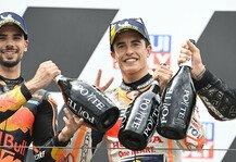 MotoGP: Marc Marquez ist zurück: MotoGP-Kollegen verneigen sich