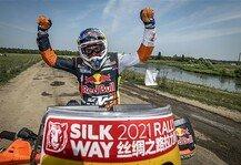 Dakar Rallye: KTM-Pilot Matthias Walkner gewinnt Seidenstraßen-Rallye