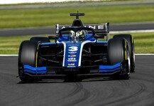 Formel 2: Formel 2 Silverstone: Alpine-Junior Zhou gewinnt Hauptrennen