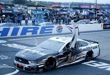NASCAR: NASCAR 2021 New Hampshire: Almirola gewinnt verkürztes Rennen