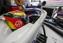 Formel 1: Mick Schumacher wechselt Helmdesign: Lieblingsfarbe muss gehen