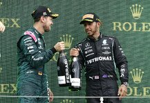 Formel 1: Nach Podium: Vettel droht Disqualifikation, zu wenig Benzin
