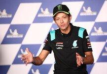 MotoGP: Valentino Rossis MotoGP-Rücktrittsrede im Wortlaut