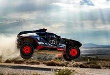 Dakar Rallye: Audi RS Q e-tron im Härtetest unter der Sonne Spaniens