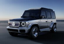 Auto: Elektrischer Mercedes EQG: Offroad-Performance soll bleiben