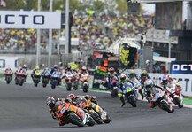 Moto2: Moto2 & Moto3 2022: Je 30 Fahrer und 15 Teams
