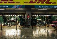 Formel 1: Formel 1 Sotschi, 3. Training abgesagt: Regen zu stark