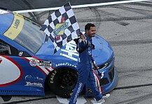 NASCAR: NASCAR 2021 Texas: Larson gewinnt zum achten Mal