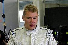 DTM - Mika Häkkinen auf der Schanze