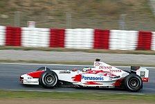 Formel 1 - Testing Time, Tag 4: Zonta übernimmt die Spitze
