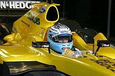 Formel 1 - Robert Doornbos testet an allen 19 GP-Wochenenden