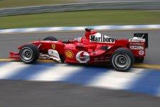 Formel 1 - F2004 M debütierte in Fiorano