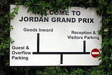 Formel 1 - Bilder: adrivo.com Inside: Besuch in der Jordan Fabrik