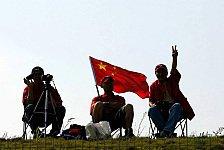 Formel 1 - Chinesen erwarten volles Haus