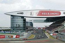Formel 1 - Ein Sturm in Shanghai: Vier Trib�nen zerst�rt