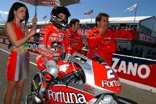 Moto2 - Ein Traum wird wahr: Moto2: STR mit Rolfo und Pietri