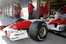 Formel 1 - Testing Time, Tag 2: Williams-Doppelführung beim Toyota-Debüt