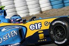 Formel 1 - Neuer Renault steht vor Streckendebüt